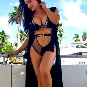 OMG black bikini